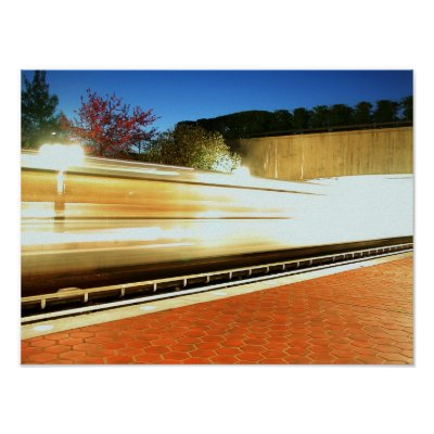 DC Metro Print by captainifr