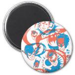 DC Originals - Logo Burst Magnet