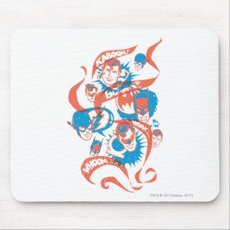 DC Originals - Logo Burst Mouse Pad