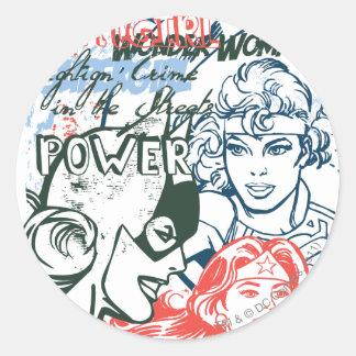 DC Originals - Spaced Out Classic Round Sticker