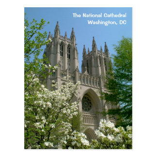 DC Postcard The National Cathedral