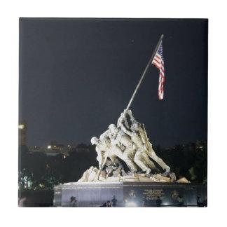 DC recuerda Azulejo Cuadrado Pequeño
