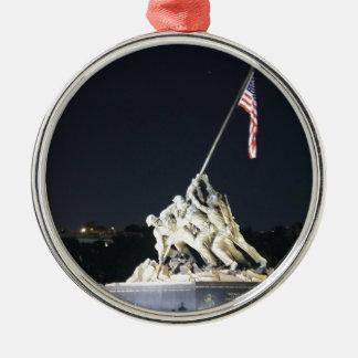 DC Remembers Metal Ornament
