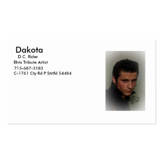 Dc. Rider's card Business Card