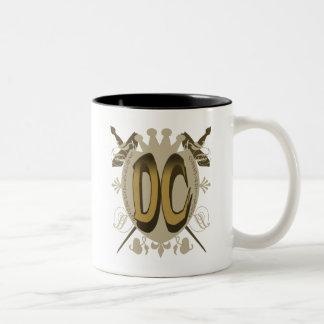 DC SHIELD LOGO Two-Tone COFFEE MUG