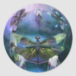 DC_Spirit Of The Dragonfly Art Sticker