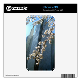 DC Temple flowers iPhone 4S Decal