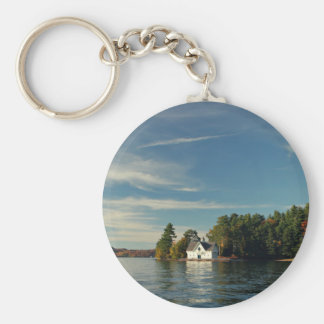 Dc Themed, Nature White House Across The River Sce Keychain