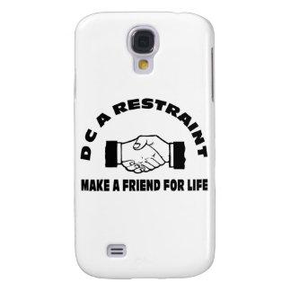 DC una Restricción-Fabricación un amigo para la vi Funda Para Galaxy S4
