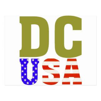 DC USA! POSTCARD