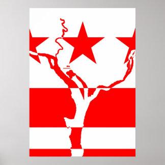DC Waterways Inverted Poster