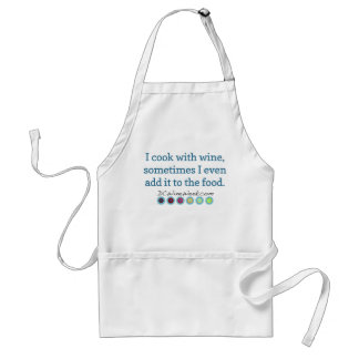 DC Wine Week: I Cook with Wine Adult Apron