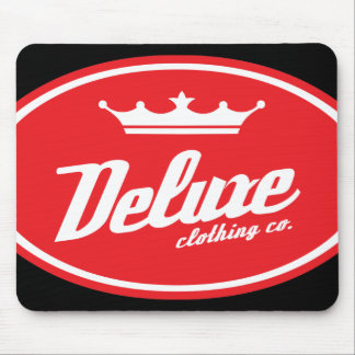 DCC Oval Mousepad (red/wht)