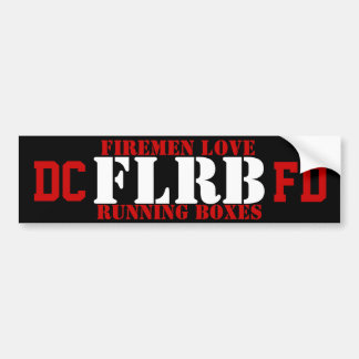 DCFD FLRB Sticker Car Bumper Sticker