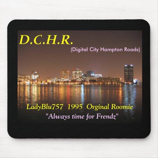 DCHR LadyBlu mousepad