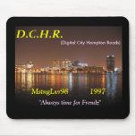 DCHR MstngLvr98 mousepad