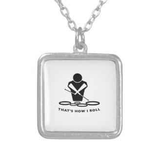 DCI QUADS - That's How I Roll Silver Plated Necklace