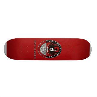 DCL Bird Logo -red Skateboard Deck