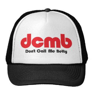 dcmb trucker hat