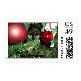 DCP_1956, Merry Catmas! Postage