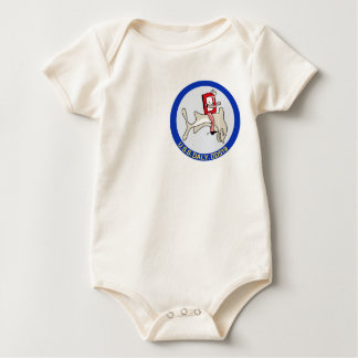 DD-519 A USS DALY Destroyer Military Patch Baby Bodysuit