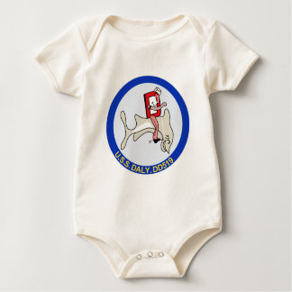 DD-519 A USS DALY Destroyer Military Patch Baby Creeper