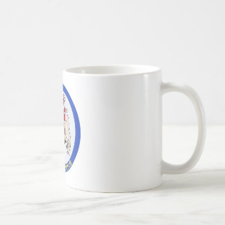 DD-519 A USS DALY Destroyer Military Patch Classic White Coffee Mug