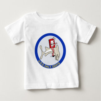 DD-519 A USS DALY Destroyer Military Patch Shirts