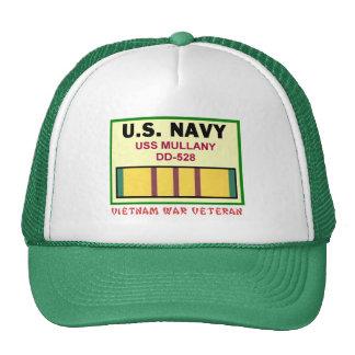 DD-528 MULLANY VIETNAM WAR VET HAT