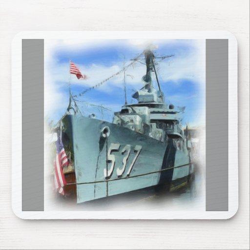 DD-537 USS el Sullivans Alfombrillas De Ratón