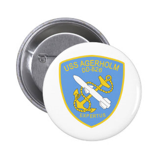 DD-826 A USS AGERHOLM Destroyer Ship Military Buttons