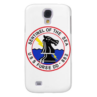 DD-882 USS FURSE Destroyer Ship Military Patch Samsung S4 Case