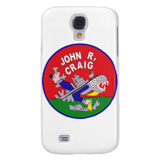 DD-885 A USS JOHN R CRAIG Destroyer Ship Military Samsung Galaxy S4 Cover