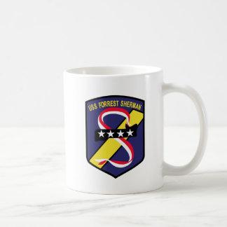 DD-931 B USS FORREST SHERMAN Destroyer Patch Coffee Mug