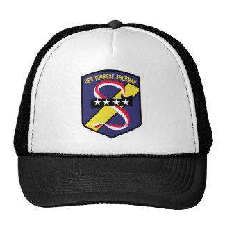 DD-931 B USS FORREST SHERMAN Destroyer Patch Mesh Hat