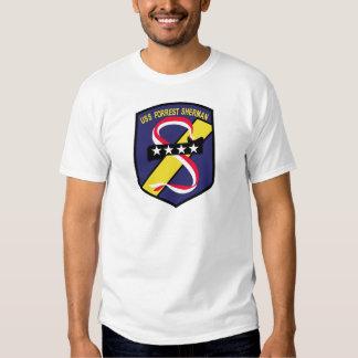 DD-931 B USS FORREST SHERMAN Destroyer Patch Shirt