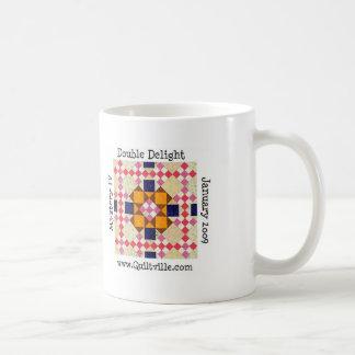 DD mug, I'd rather be quilting with Bonnie! Coffee Mug
