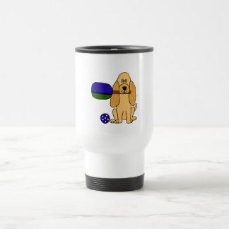 DD- Pickleball Cocker Spaniel Cartoon Mugs