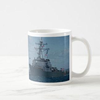 "DDG 52 ""Arleighe Burke"", first of new class aegis Classic White Coffee Mug"