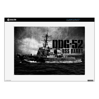 "DDG-52 Barry 15"" Laptop For Mac & PC Skin 15"" Laptop Decal"