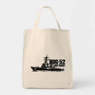 DDG-52 Barry Grocery Tote