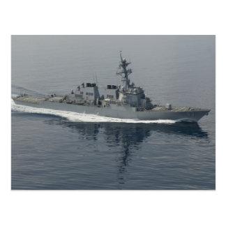 DDG 63 USS Stethem Tarjeta Postal