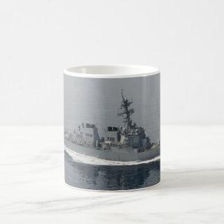 DDG 63 USS Stethem Taza Básica Blanca
