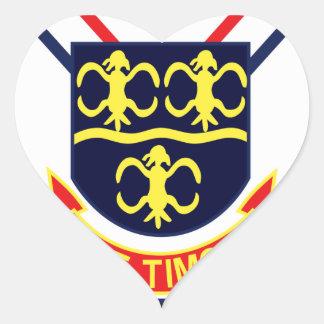 DDG-8 USS Curtis Lynde McGormick Navy Guided Missi Heart Sticker