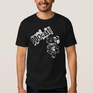 DDOcast Snagz Mascot on Black T-Shirt