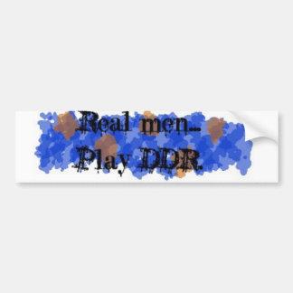 DDR bumper sticker