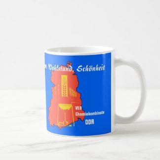 DDR Chemiekombinate diseño de publicidad Tazas De Café