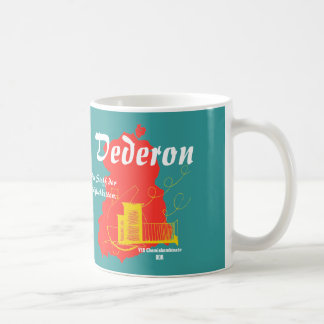 DDR Dederon diseño de publicidad Tazas