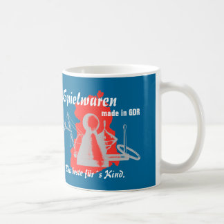 DDR diseño de publicidad Spielwarenkombinate DDR Tazas De Café