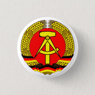 DDR East Germany Button